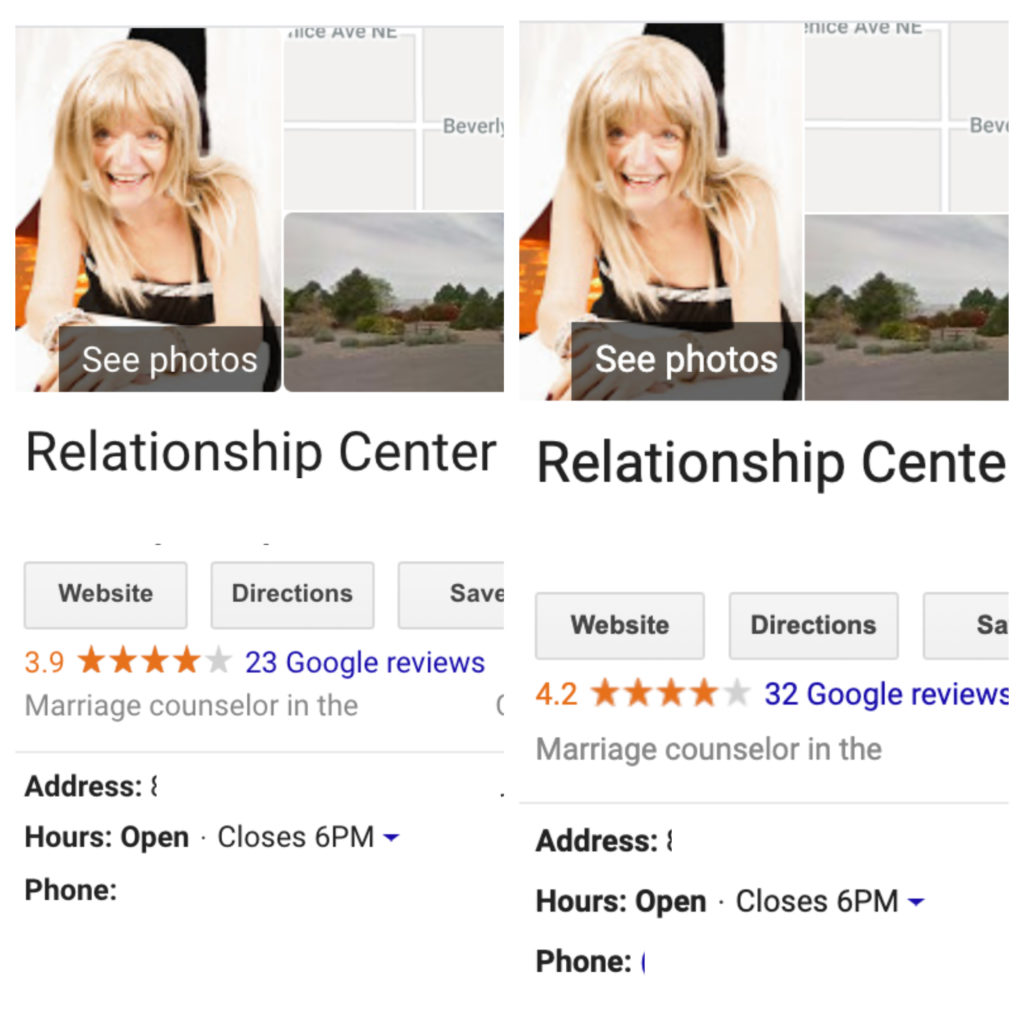 relationship center 23 to 32 reviews