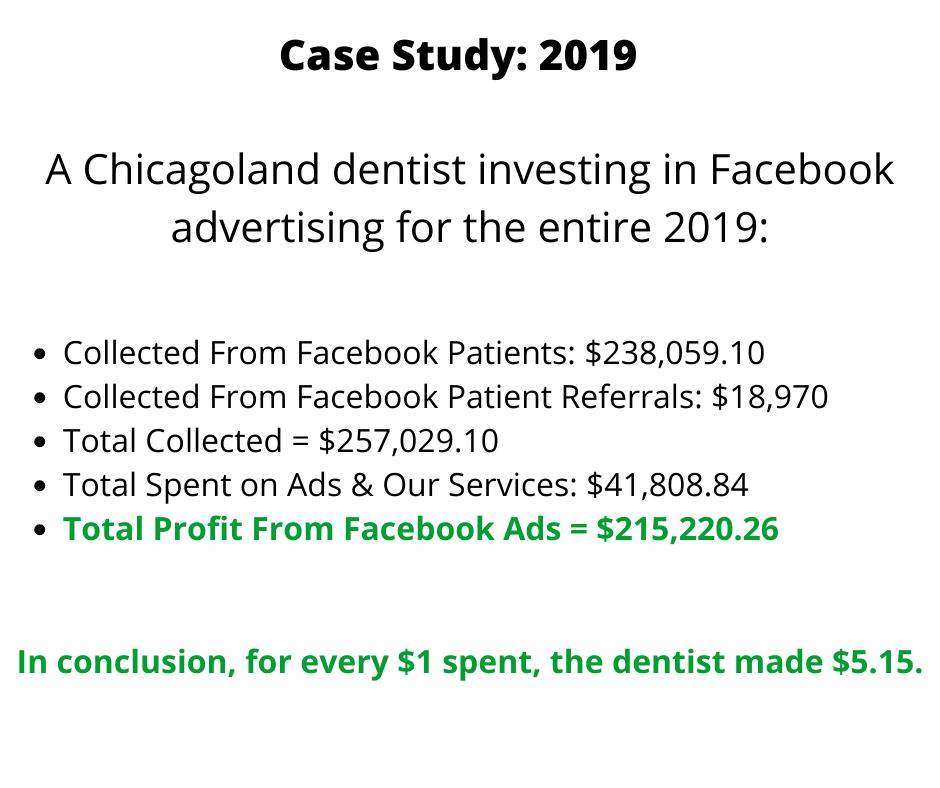 Facebook ads for dentists 2019